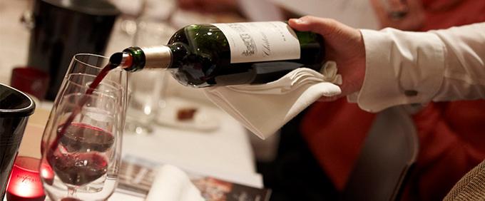 сервирање вино